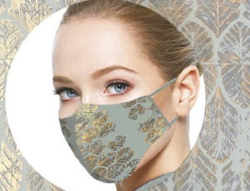 Angela Florio: mascherine anti Covid-19 ispirate alle maschere veneziane
