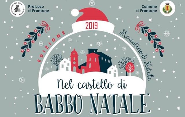 Mercatini di Natale Frontone: la magia si accende Nel Castello di Babbo Natale