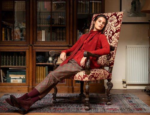 Outfit invernali: pantaloni scozzesi High Everyday Couture, il capo passepartout