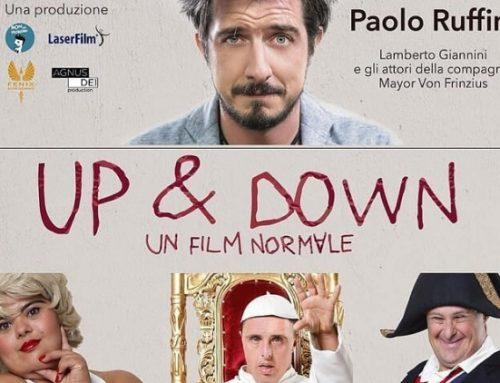 """Arena Adriano Studios: Paolo Ruffini alla premiazione di """"UP&Down"""""""