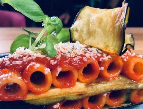 Capolavori italiani in cucina: pasta alla norma dello chef Beppe Barone