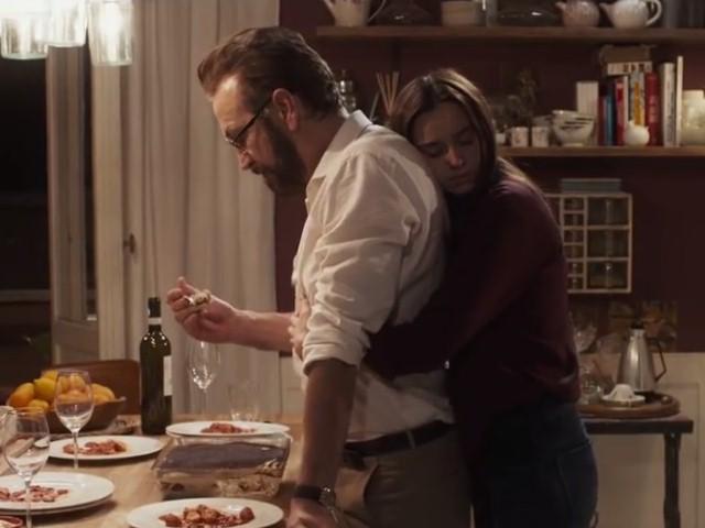 Perfetti sconosciuti - Marco Giallini e Kasia Smutniak