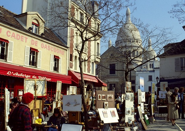 Place du Tertre (Montmatre)