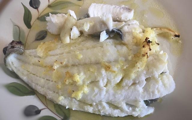 ricetta del rombo al forno