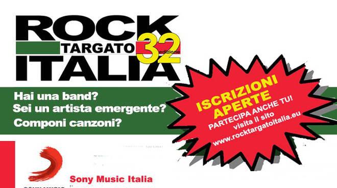 Rock Targato Italia aperte le iscrizioni alla 32/a edizione (2019/2020)