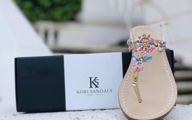 Sandali Capresi artigianali il prezioso Made in Italy di KS Kori Sandal