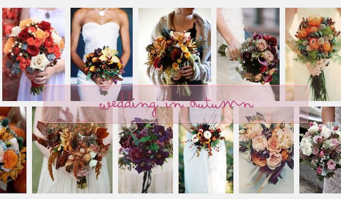 Bouquet Autunnali Sposa.Bouquet Sposa Autunno I Fiori Da Scegliere Mese Per Mese