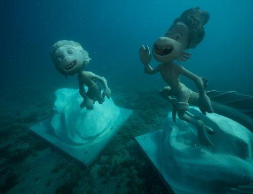 """Monterosso: le statue subacquee ispirate a """"Luca"""", il film Disney e Pixar"""