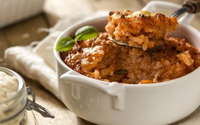 ricetta del timballo di riso