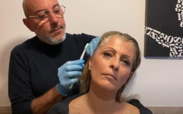 Come fare la tinta capelli in casa il tutorial di Roberto Carminati (video)