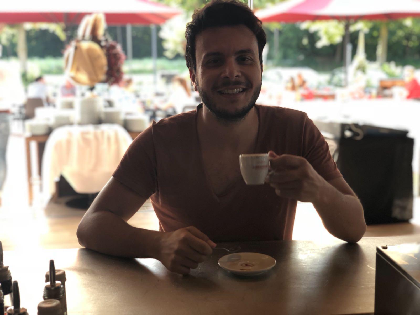 Armando Quattrone un caffè con