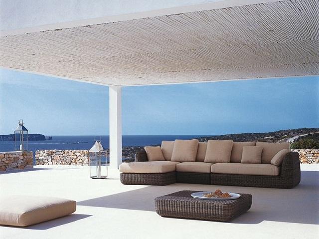 Unopi idee e mobili per dare un tocco living a terrazze for Arredo terrazza giardino offerte