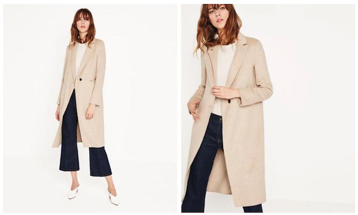 Cappotto Zara, collezione primavera-estate 2016. 129,00 EUR
